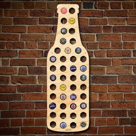 Beer Bottle Beer Cap Map