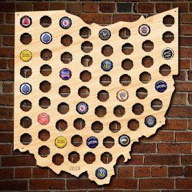 Ohio Beer Cap Map