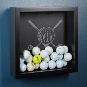 Tee It Up Personalized Shadow Box