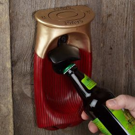 Shotgun Shell Wall Mount Bottle Opener