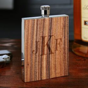 Matterhorn Rosewood Custom Flask (Engravable)