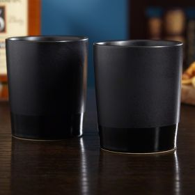 Haywood Ceramic Whiskey Tumbler Set of 2