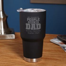 Favorite People Dad Gift - Customized Insulated Tumbler