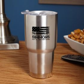 American Heroes Personalized Insulated Travel Mug