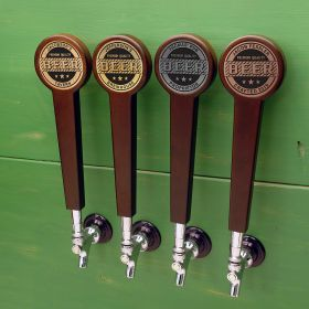 Premium Quality Custom Beer Tap Handle, 4 Color Options