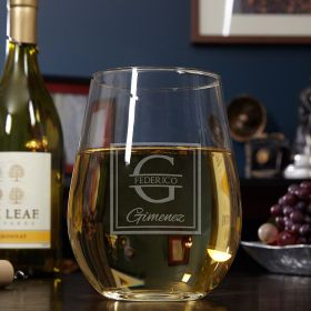 Oakhill Custom Giant Stemless Wine Glass