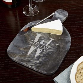 Oakmont Personalized Marble Cheese Board