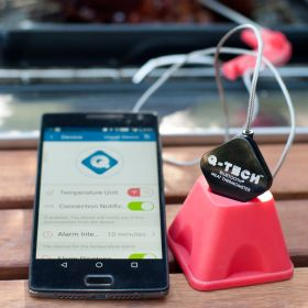 Wireless Bluetooth Meat Thermometer by Q-TECH