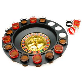 Shot Glass Roulette Drinking Game 16pc set