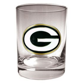Green Bay Packers Rocks Glass (Engravable)