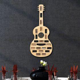 Guitar Wine Cork Holder