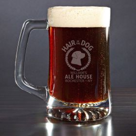 Hair of the Dog Personalized Beer Mug