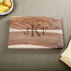 Exotic Hardwood Classic Monogram Cutting Board