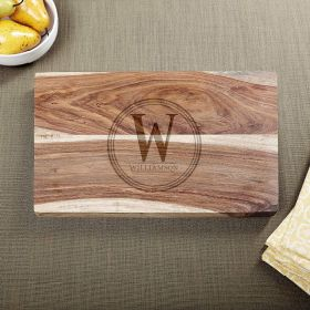 Personalized Family Brand Exotic Cutting Board