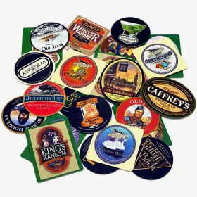 English Pub Coasters, Set of 25