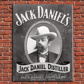 Jack Daniels, Distiller Vintage Tin Sign