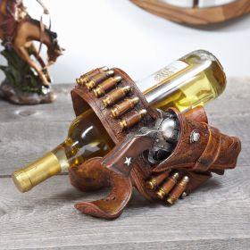 Gun Holster Wine Bottle Holder