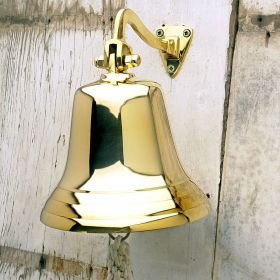 Polished Brass Ships Bell