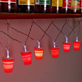 Hang Anywhere! Red Cup String Lights