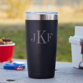 Stainless steel thermos Black
