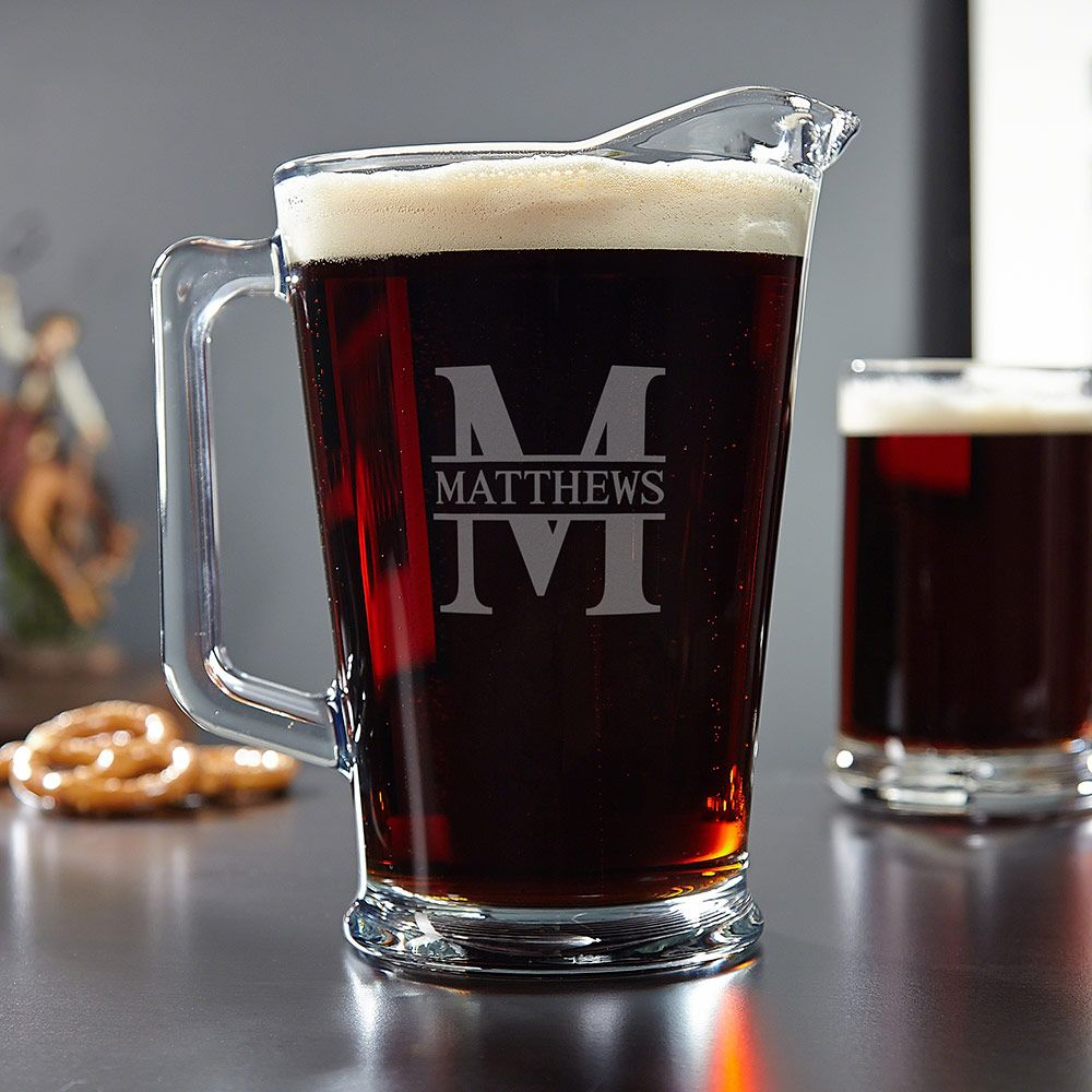 Oakmont Personalized Beer Pitcher