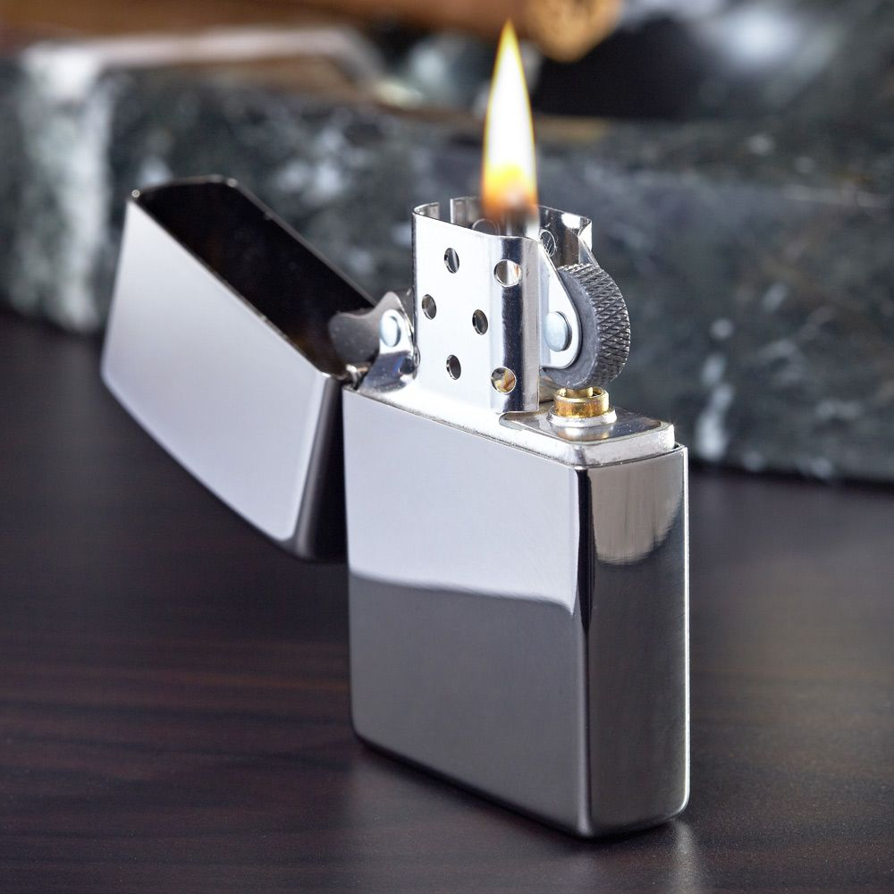 Personalized Refillable Metal Lighter