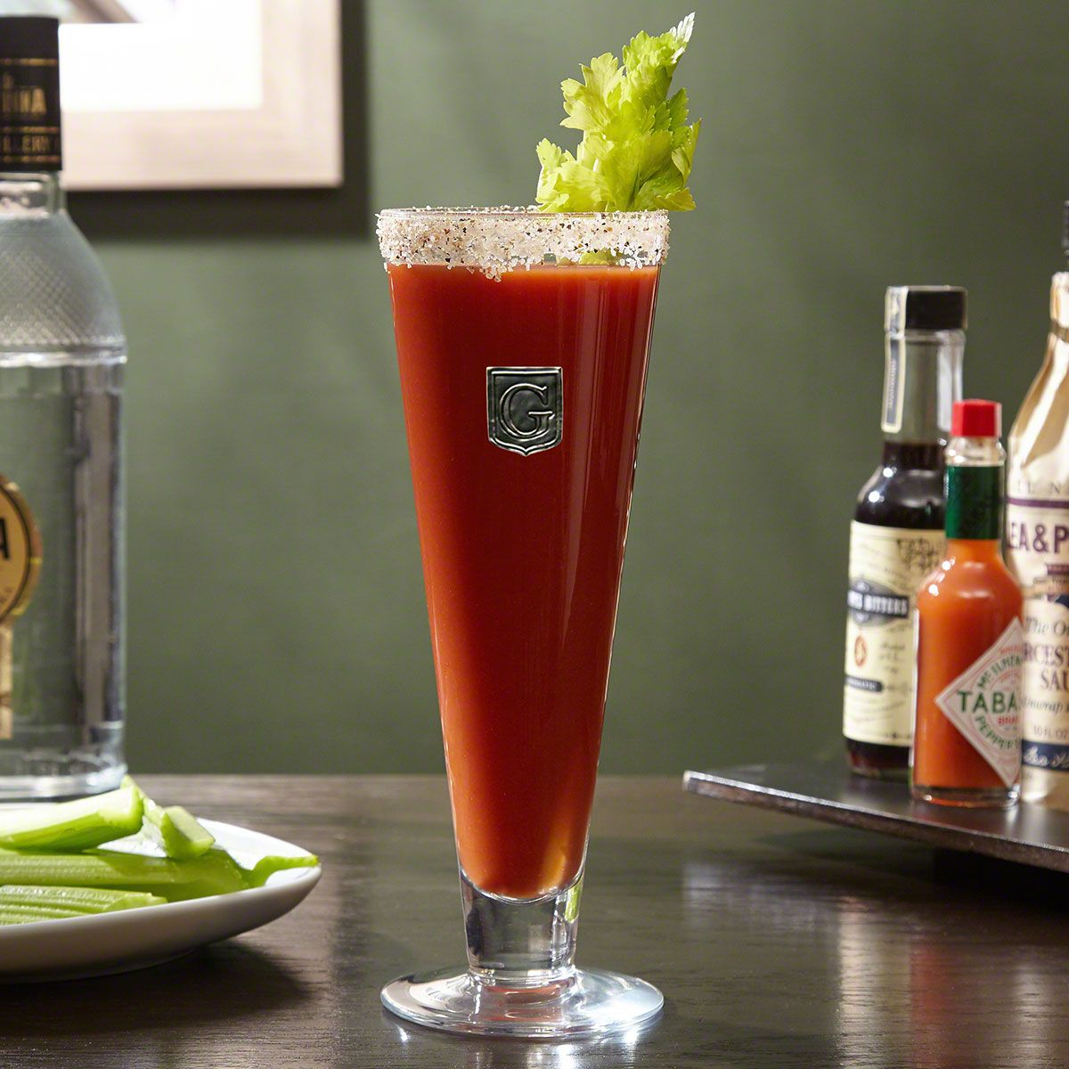 Regal Crested Custom Bloody Mary Glass