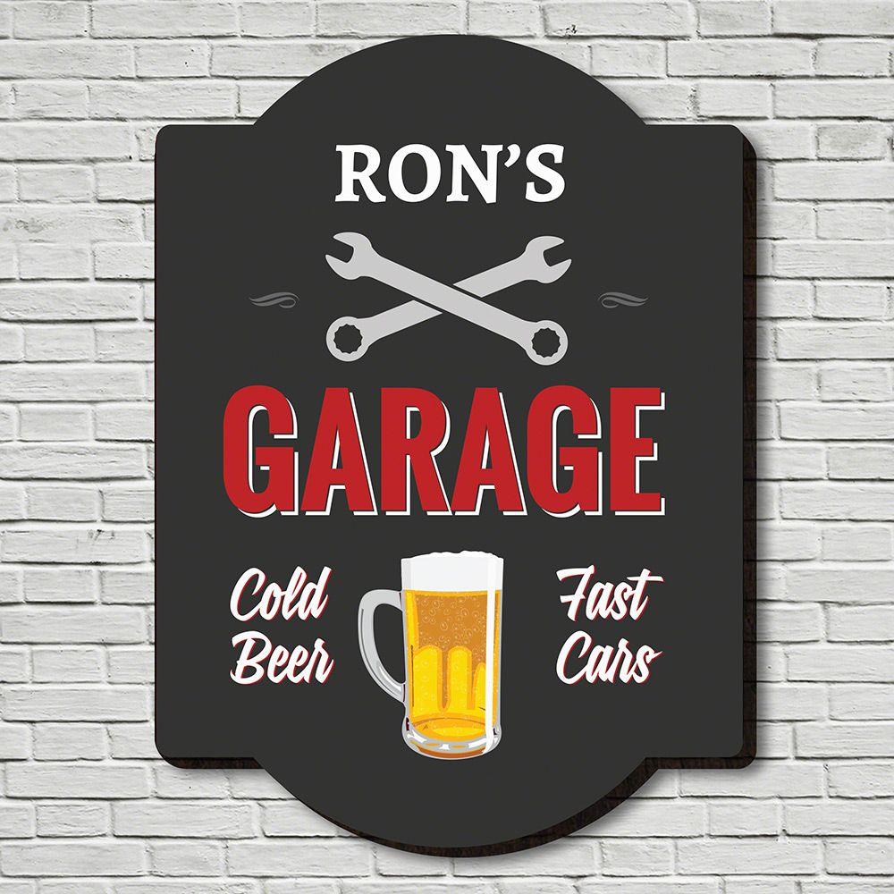 Handyman Personalized Garage Sign