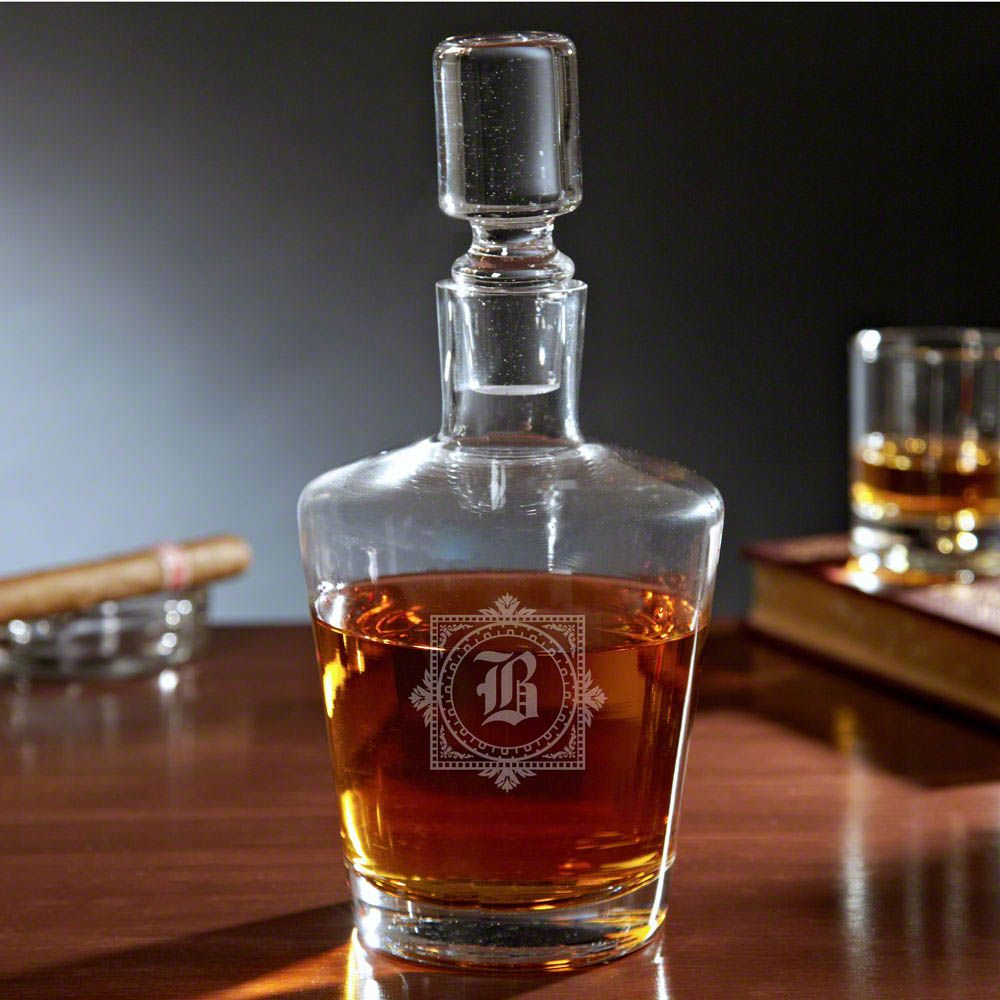 Winchester Monogram Bryant Liquor Decanter