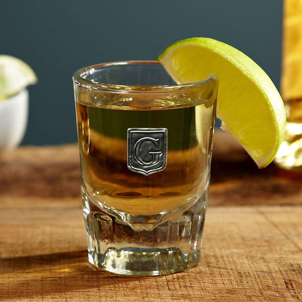 Regal Crested Personalized Shot Glass