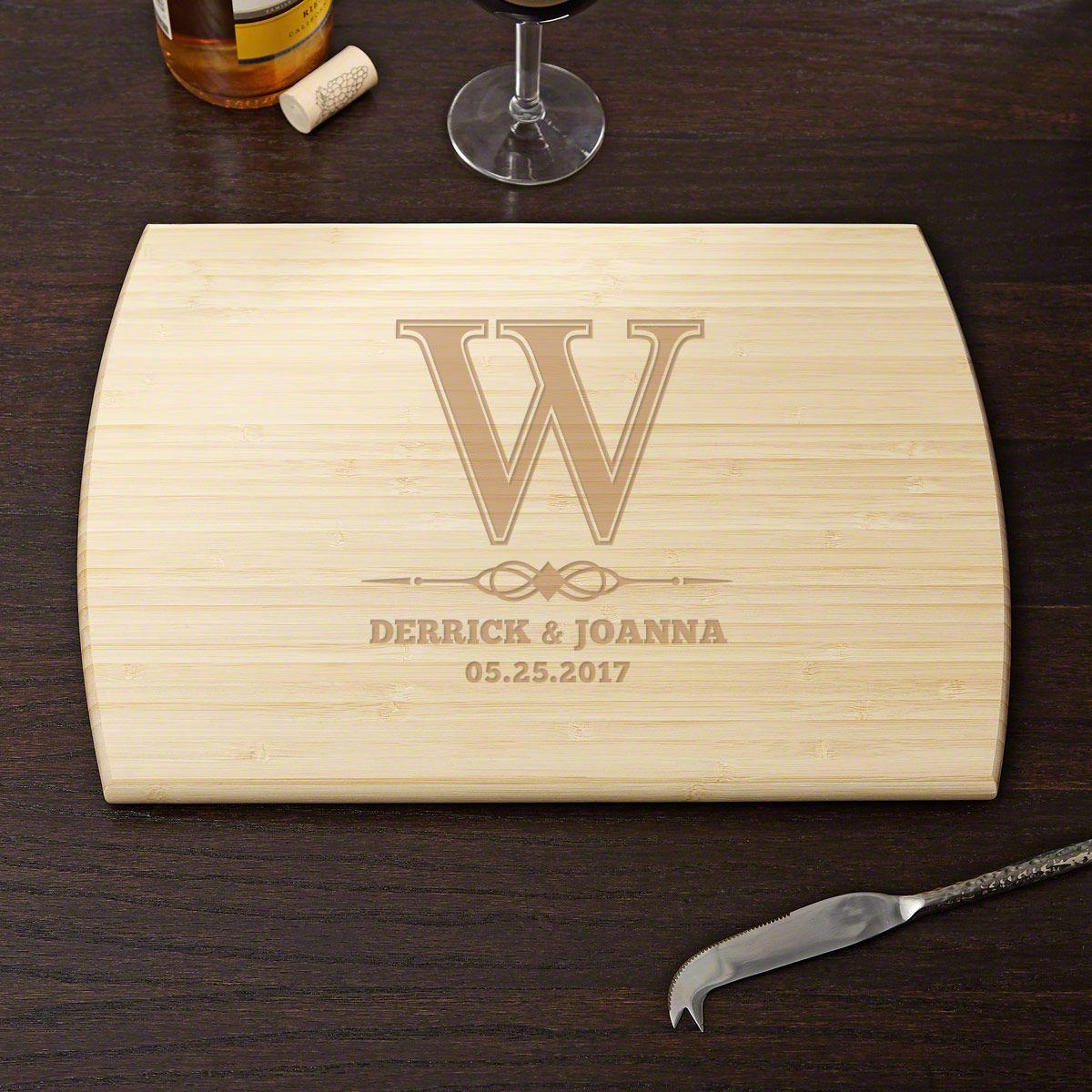 Lyndhurst Personalized Bamboo Cutting Board