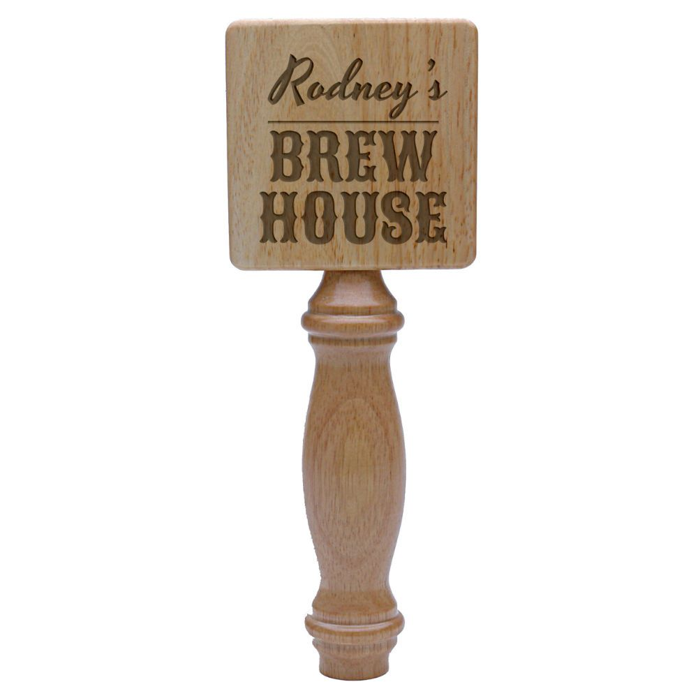 Personal Brew House Natural Wood Tap Handle