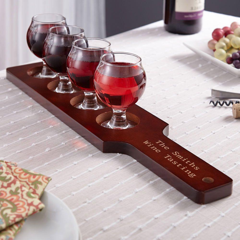 Mission Personalized Wine Flight Set