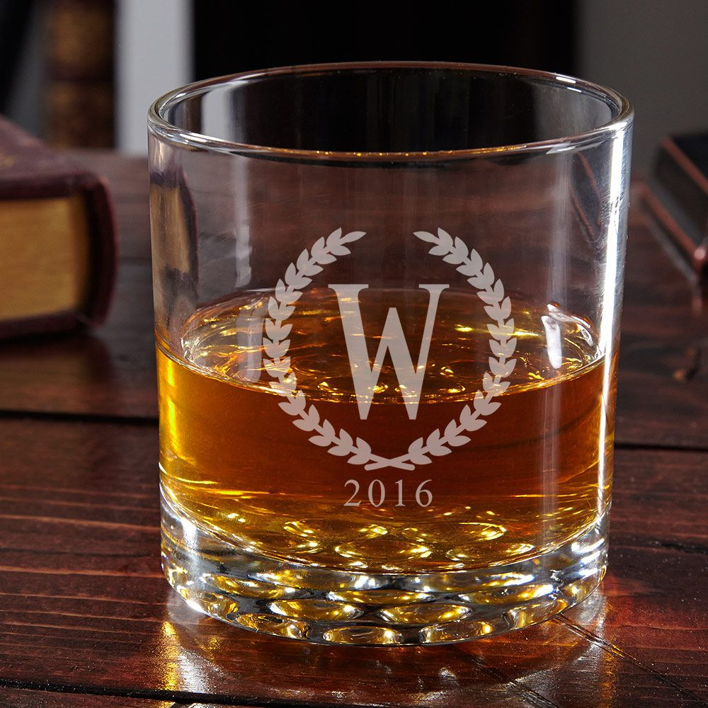 Buckman Statesman Personalized Whiskey Glass