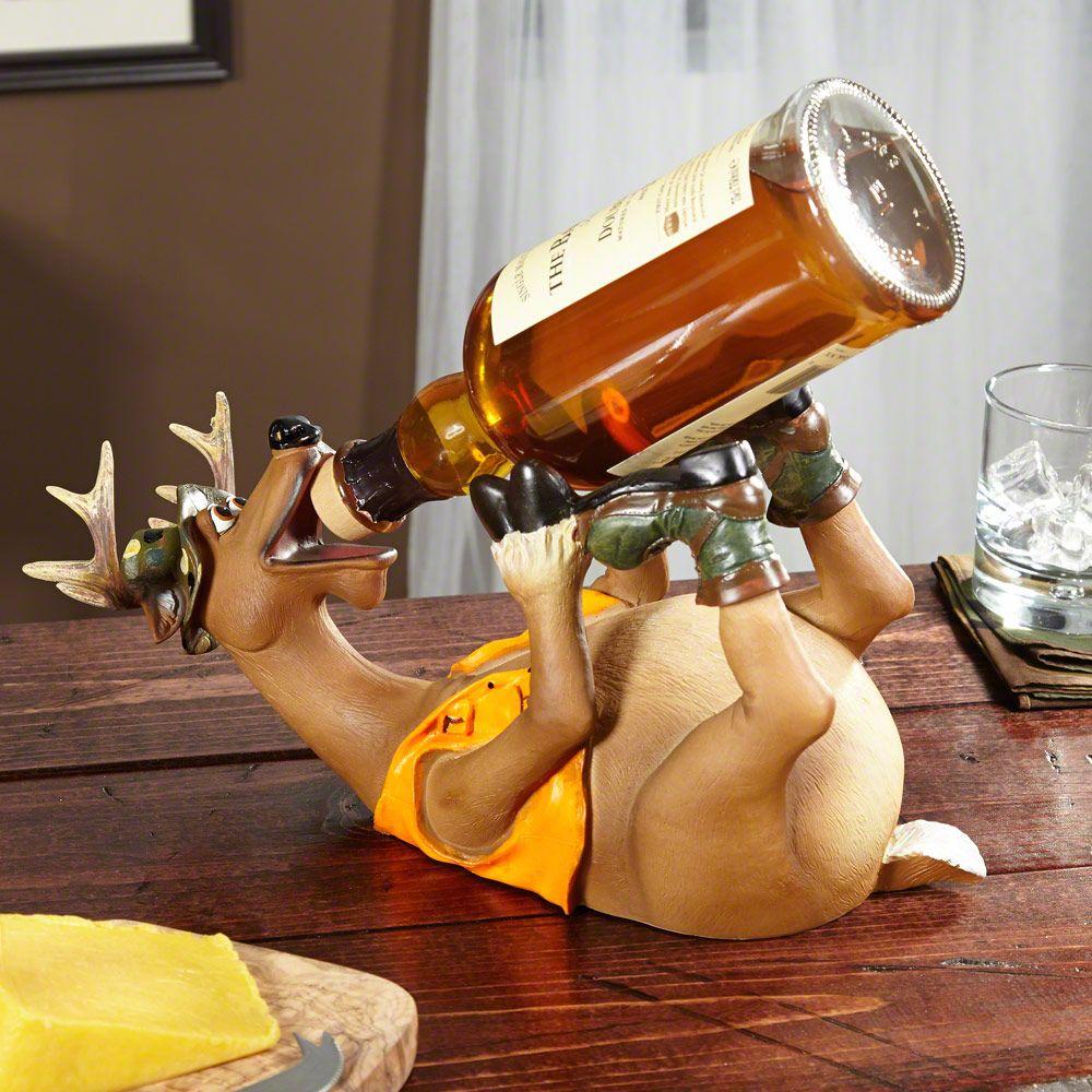 Drunken Deer Wine Bottle Holder