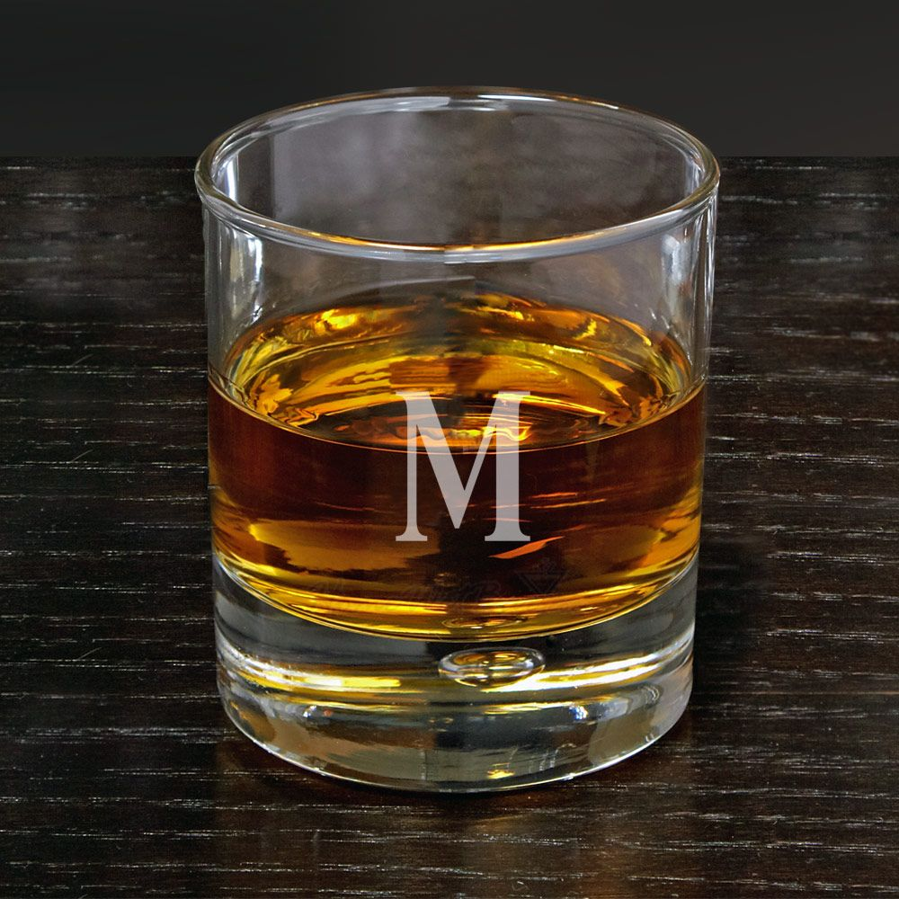Bryne Personalized Double Old Fashioned Glass