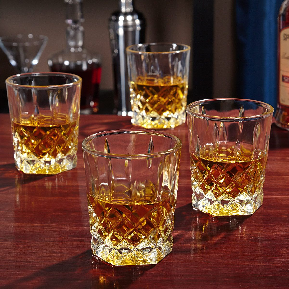 St. Lorenz Whiskey Glasses, Set of 4