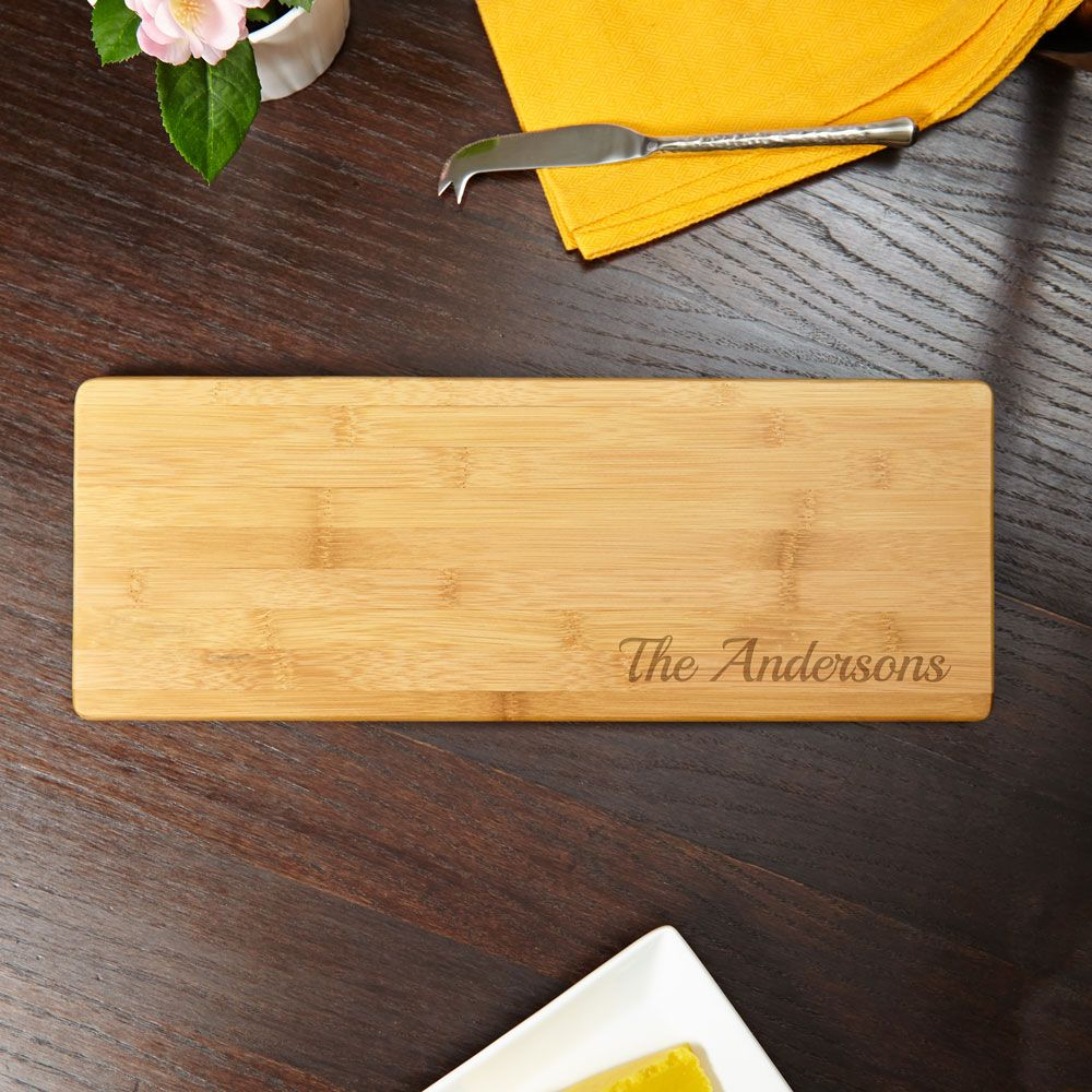 Bamboo Crafted Personalized Bread Cutting Board