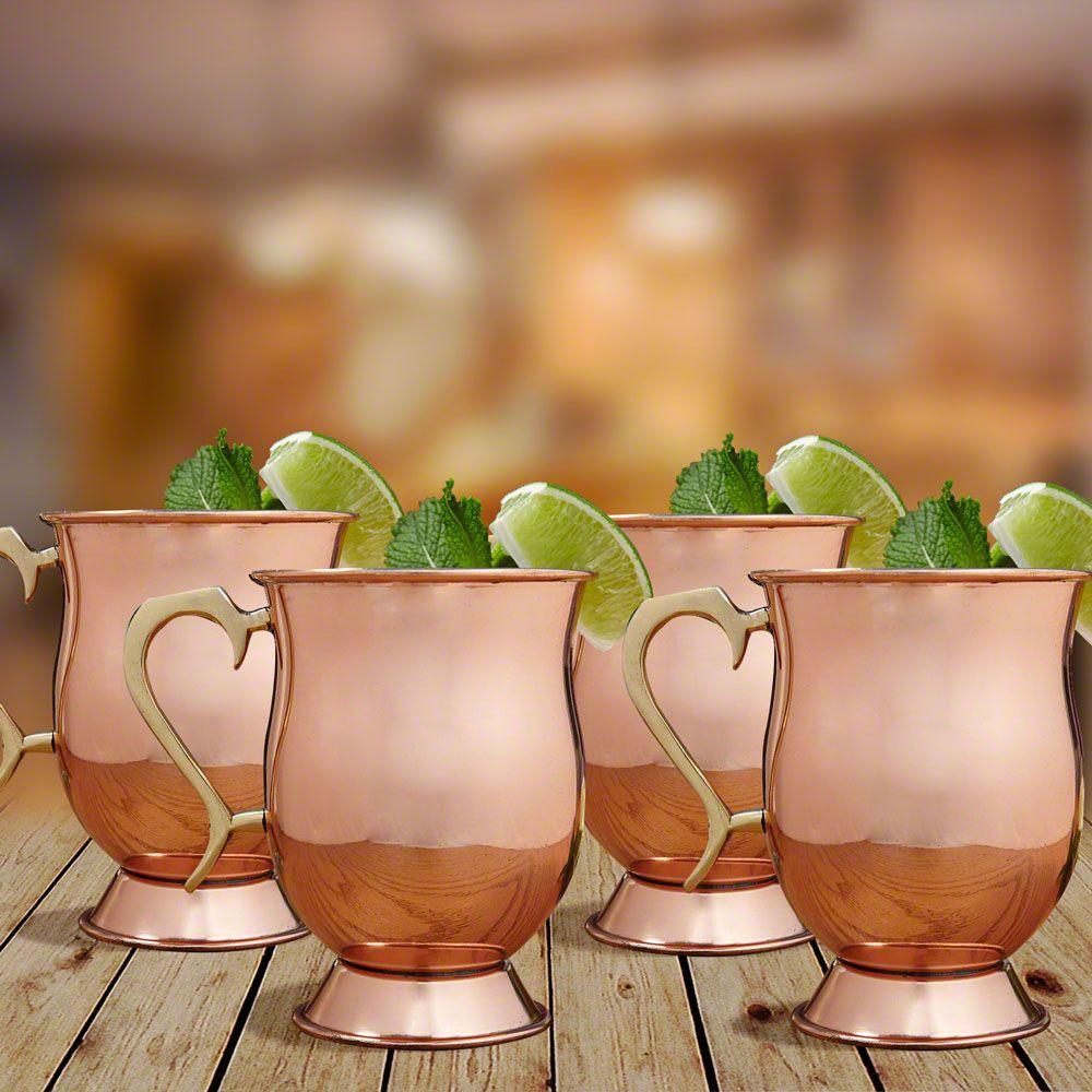 Ivan Moscow Mule Mugs, Set of 4