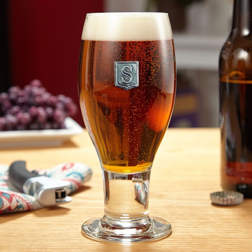 Concord Regal Crested Beer Glass
