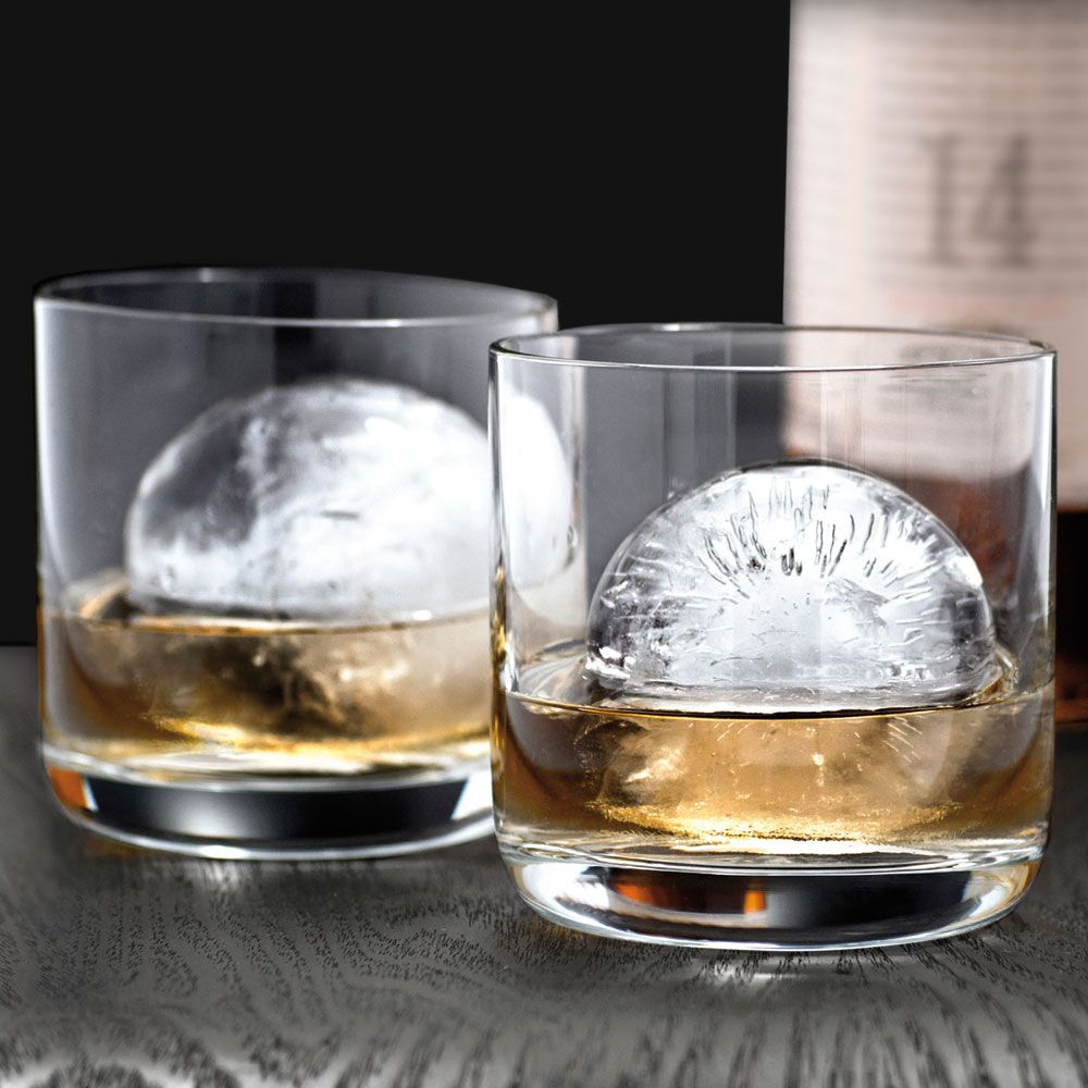 Perfect Sphere Ice Cube Molds, Set of 2