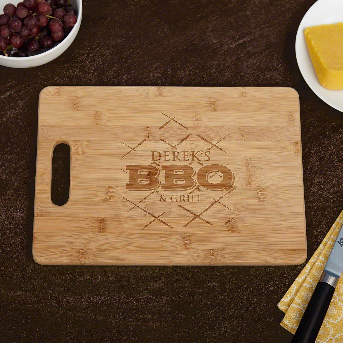 BBQ & Grill Personalized Cutting Board