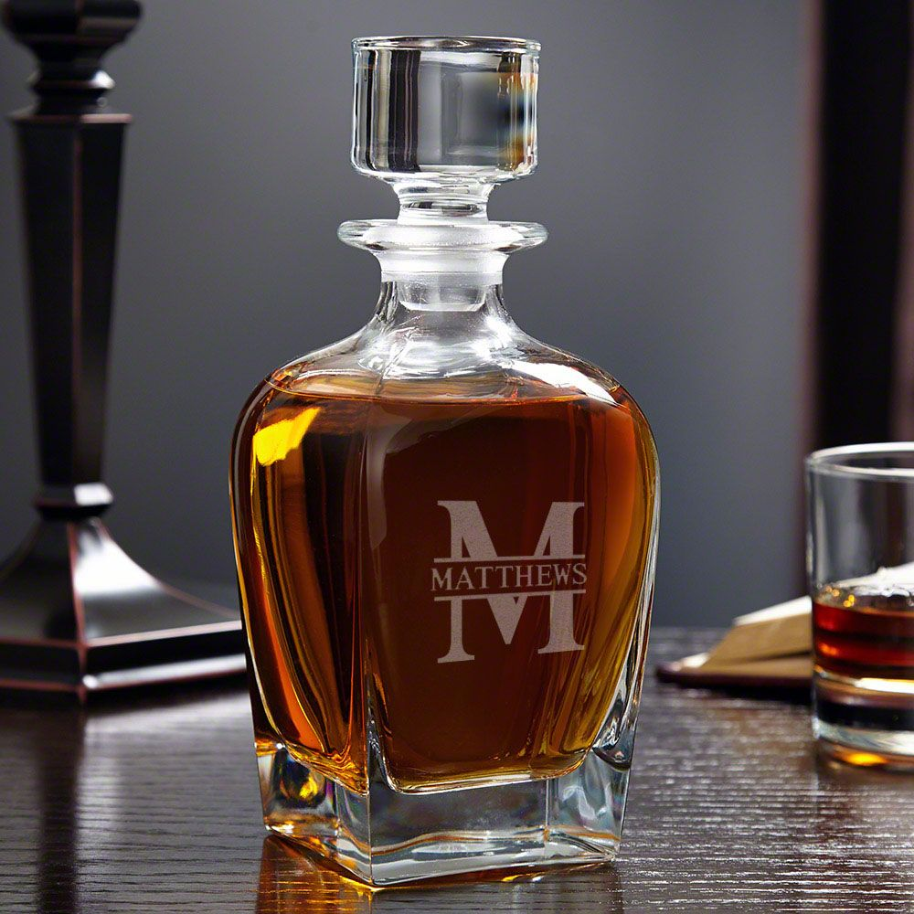 Oakmont Personalized Draper Whiskey Decanter