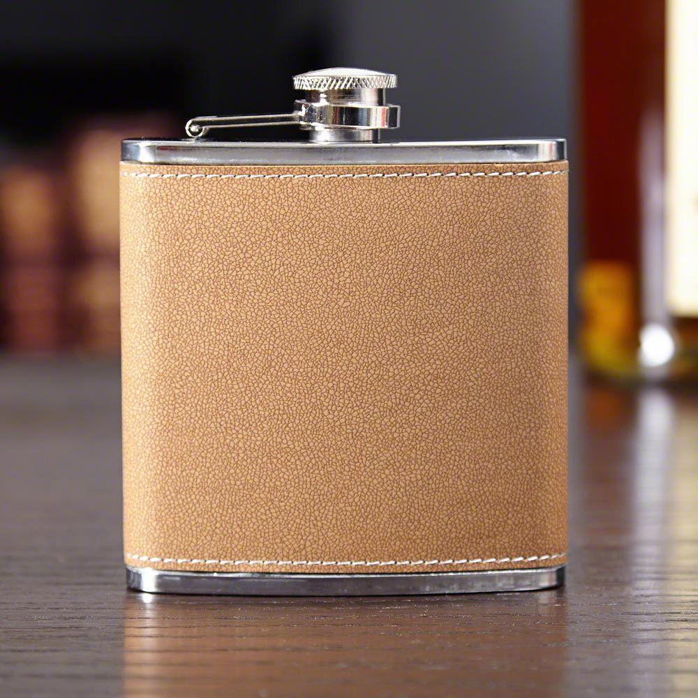Authentic Leather Liquor Flask