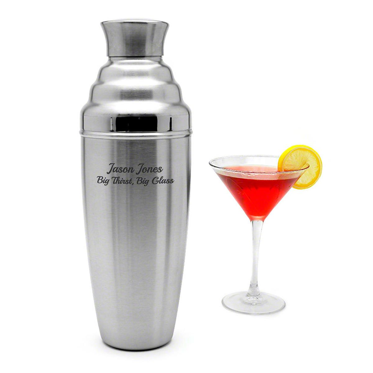 Extra Large Personalized Cocktail Shaker