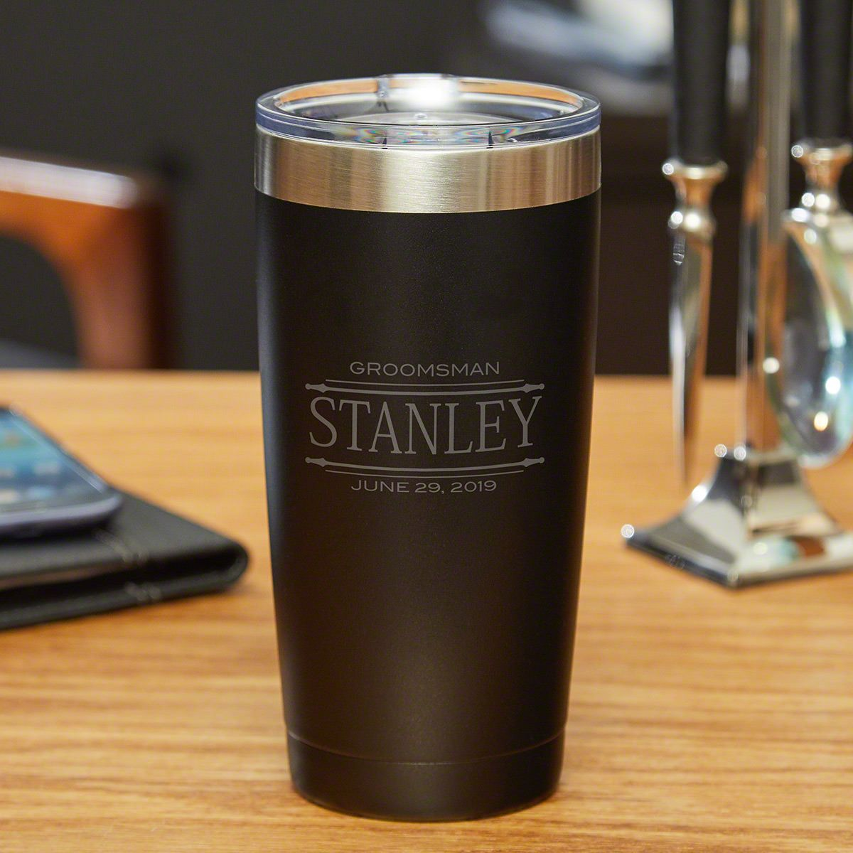Stanford Stainless Steel Insulated Yeti Tumbler Gift for Groomsmen