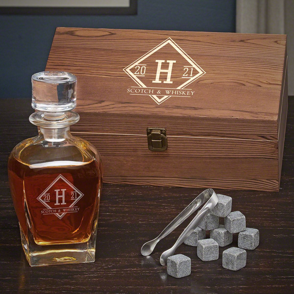 Drake Personalized Decanter Box Set