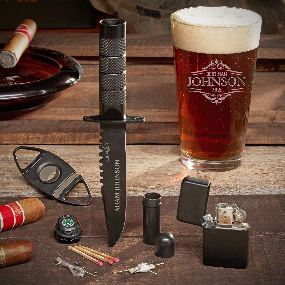 Wilshire Custom Knife Gift Set for Guys