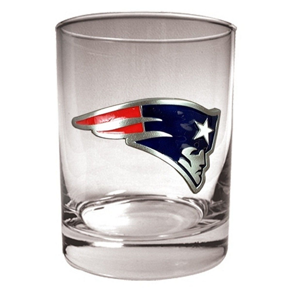 New England Patriots Whiskey Glass (Engravable)