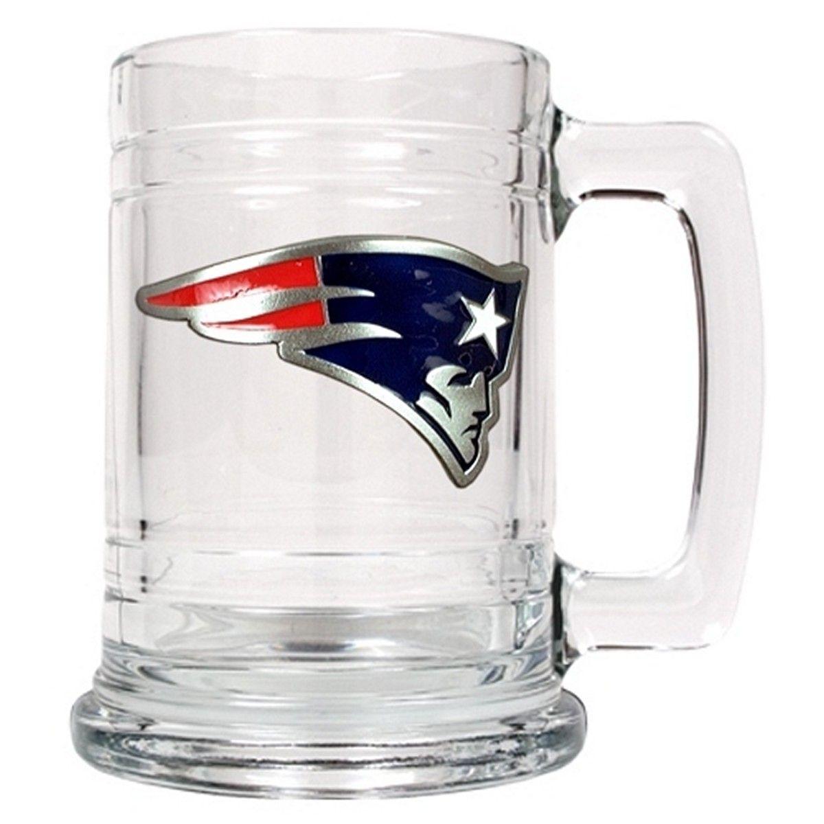 New England Patriots Beer Mug (Engravable)